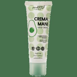 Crème mains purobio for skin