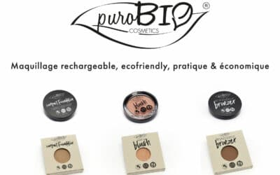 Maquillage rechargeable, ecofriendly, pratique & économique