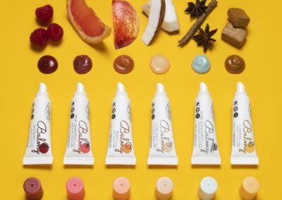 Présentation des 6 parfums balmy