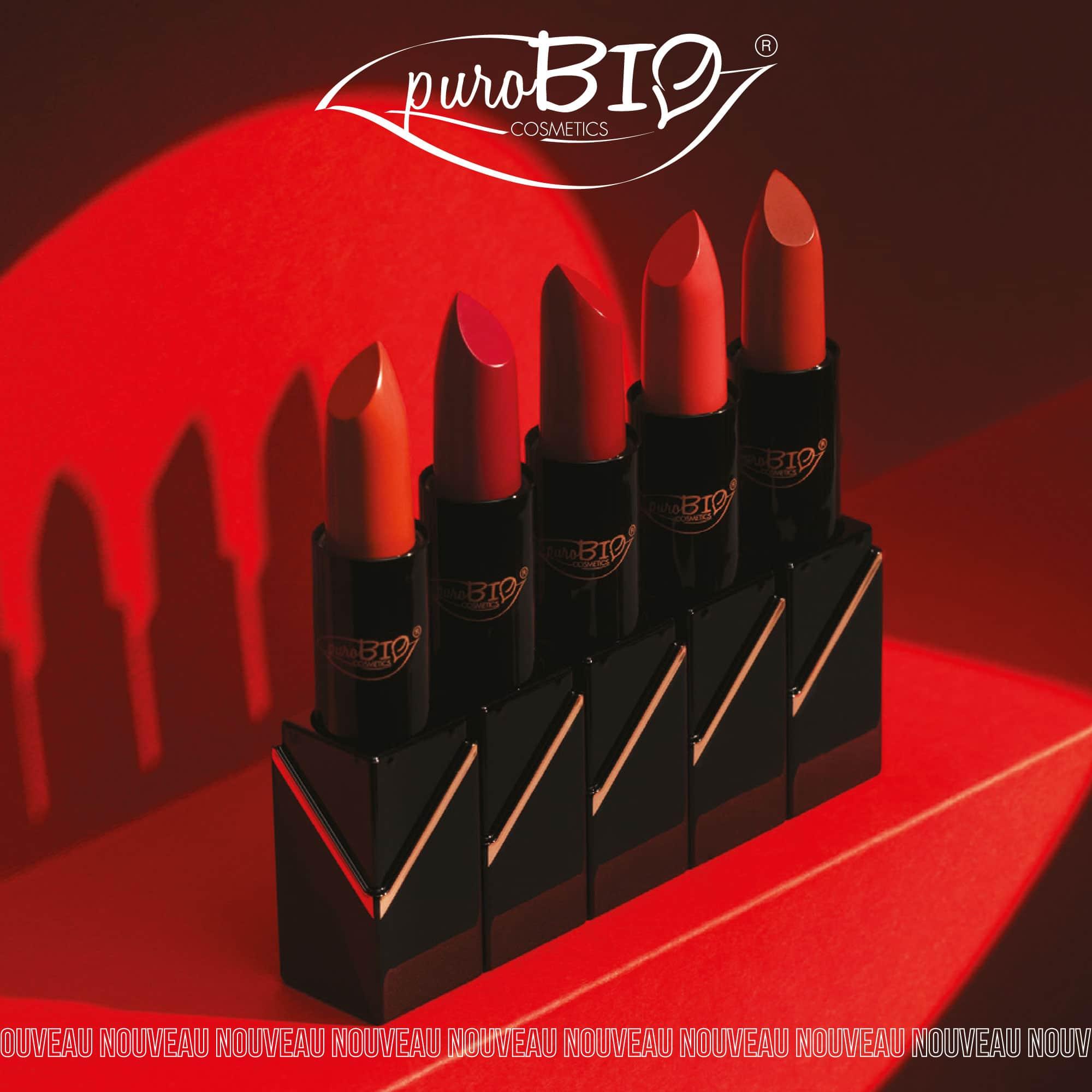 Les 5 teintes du nouveau rouge à lèvres rechargeable